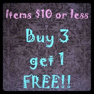 Jewelry - 👉All items $10 or LESS🔥Buy 3 Get 1 FREE 🎁👠👍